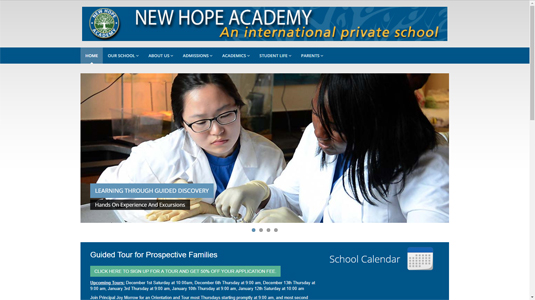 New Hope Academy Website